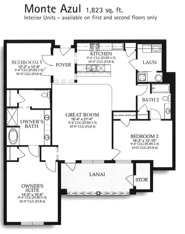 Floor Plan for Contempo Suite